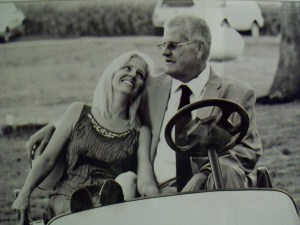 Terry and Julie Golfcart